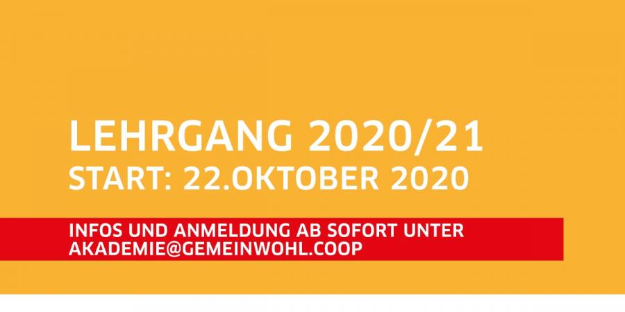 Anzeige: Lehrgang coming soon